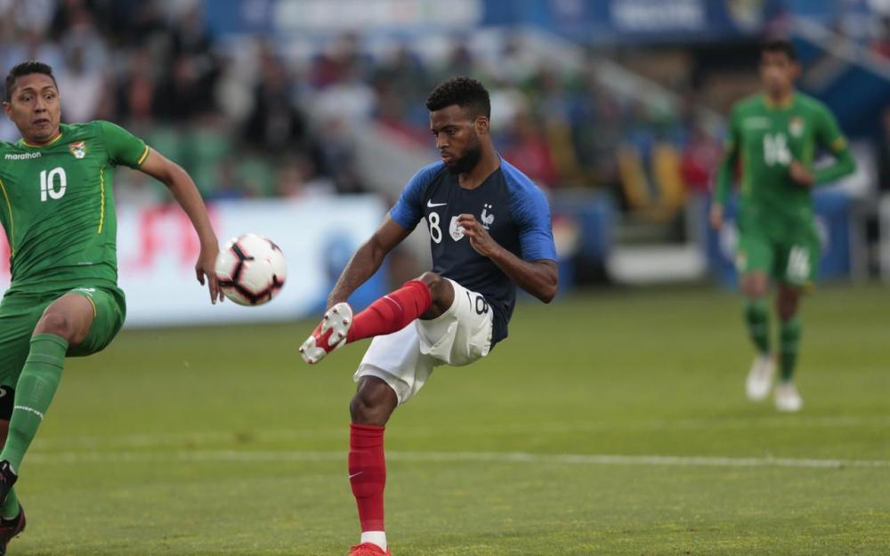 德尚:勒马尔近几周在马竞踢得好,他在国家队总能进步