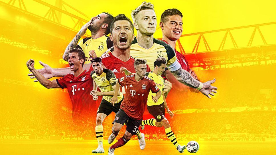 德国超级杯日程确定:8月3日,多特主场迎战拜仁