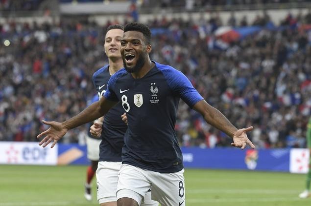 友谊赛:格列兹曼传射勒马尔破门,法国2-0玻利维亚