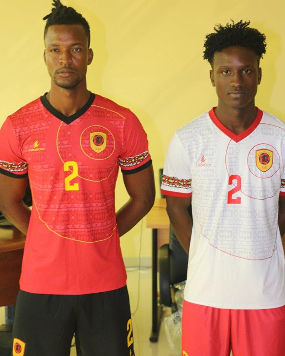 诡异画风!安哥拉非洲杯球衣印有圆圈和奥秘图案