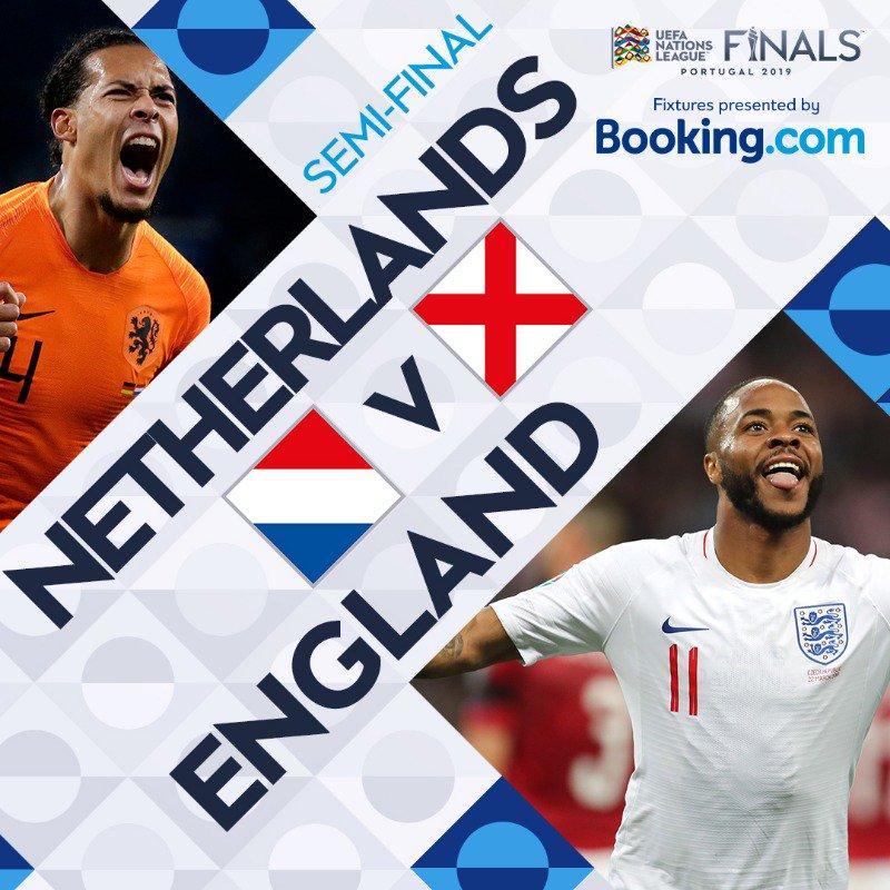欧国联半决赛荷兰 vs首发:范戴克对决斯特林