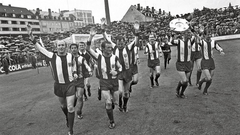 纪念日! 50年前的今天, 拿到首个德甲冠军