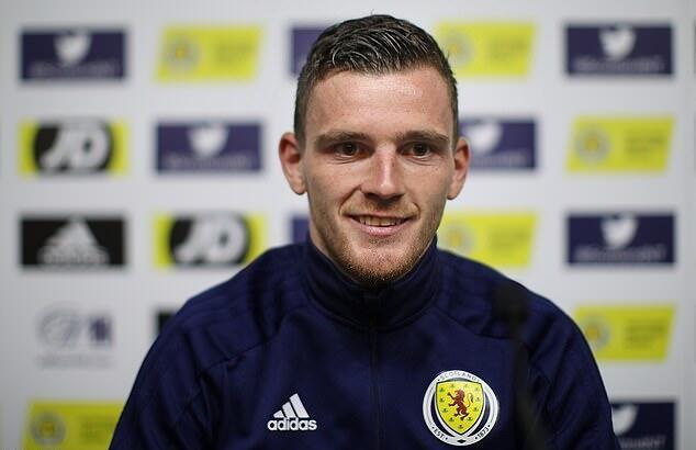 罗伯逊:希望带领苏格兰杀入欧洲杯,终结21年无大赛记录