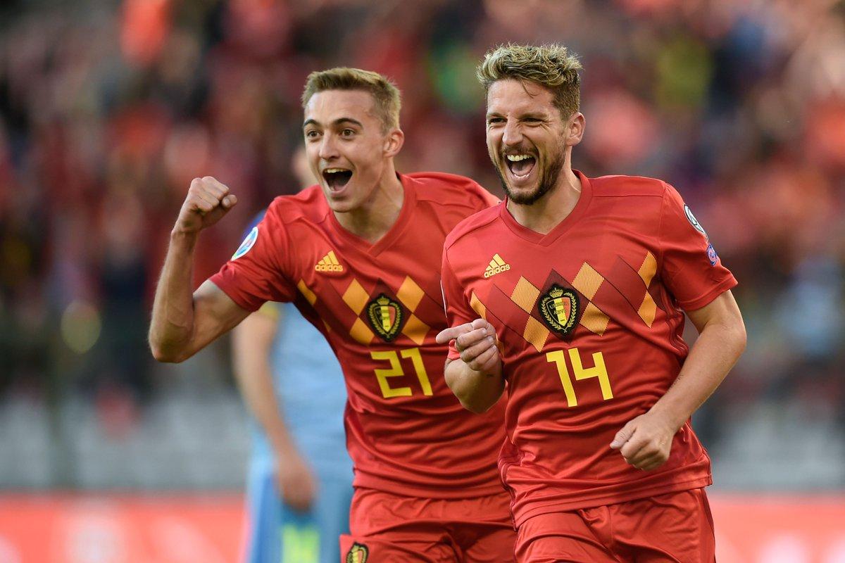 GIF:势不走挡!比利时三球领先哈萨克斯坦