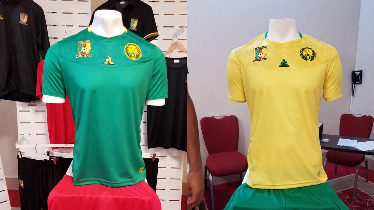 新赞助商发布喀麦隆非洲杯战袍:雄狮暗纹霸气中显萌态