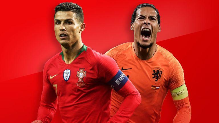 欧国联决赛葡萄牙vs荷兰始发:C罗对。决范戴克