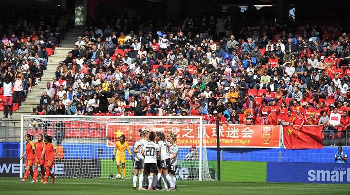 中德女足大战受关注,  438万球迷电视机前观看比赛