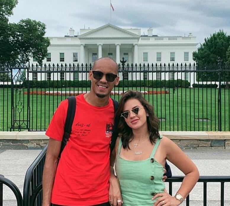 英超众球星忙度假:海岛最热门, 法比尼奥选择去白宫