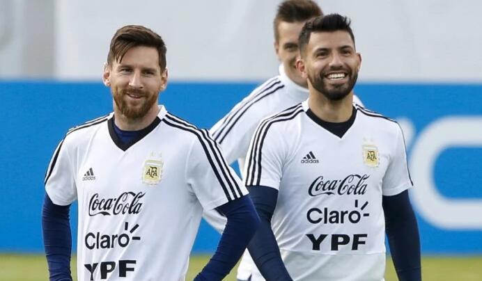 阿根廷美洲杯房间分配:梅西阿圭罗再次住同一间房