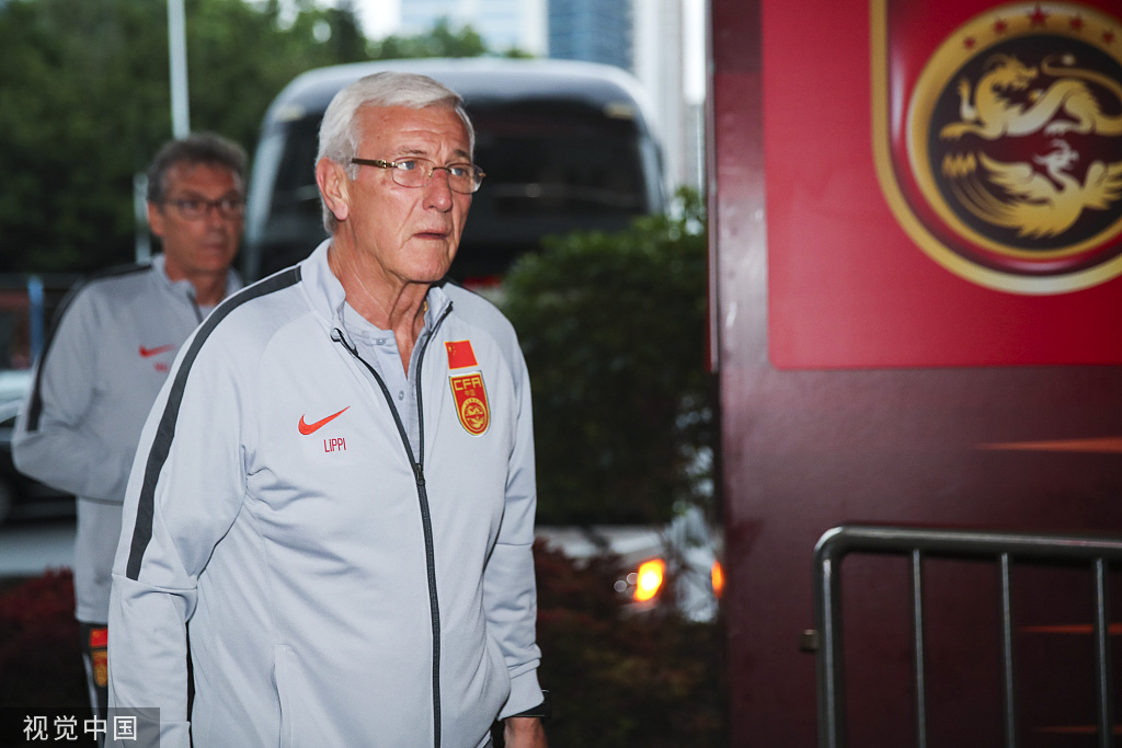 记者:国足热身赛主场定在广州不是里皮的主意