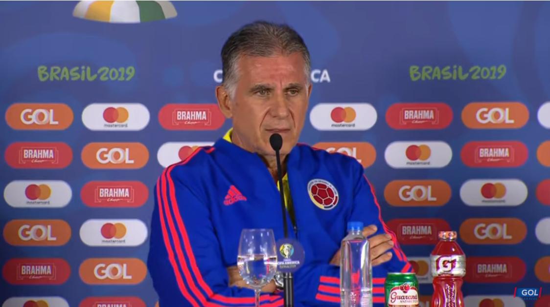 奎罗斯:哥伦比亚尊敬阿根廷万博彩票,但我们更尊重自己