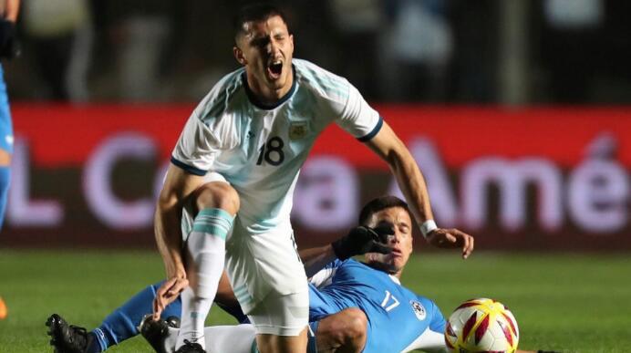 阿根廷中场:只要有梅西在,一切都会变得更加容易