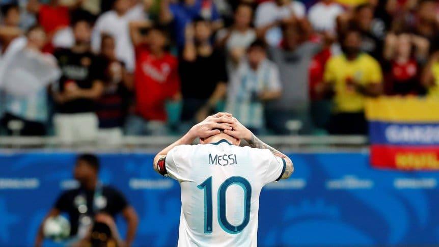 阿根廷第三次遭遇美洲杯开门黑,前两次小组赛出局