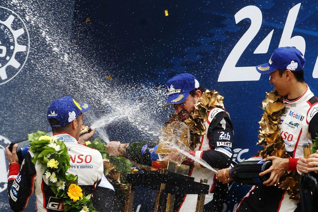 阿隆索卫冕勒芒24幼时耐力赛冠军,皇马官推:为你傲岸