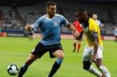 官方:乌拉圭中场贝西诺因肌肉损伤无缘美洲杯剩余比赛