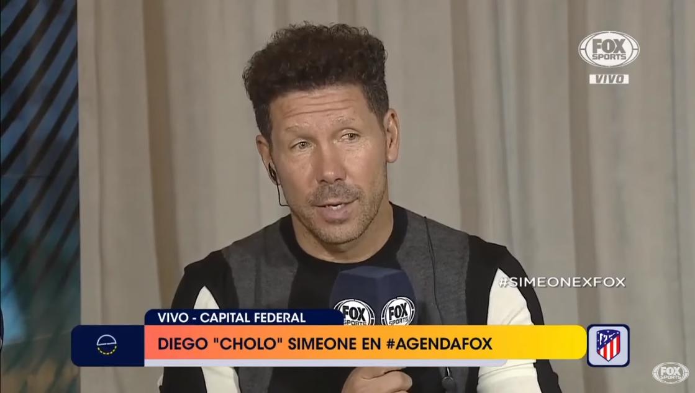 西蒙尼:我们那个时代,阿根廷拿冠军是很理所应当的