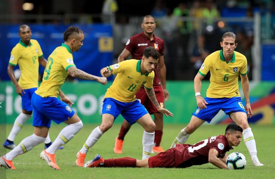 WhoScored巴西 vs委内瑞拉评分:双方平均分均 6.  77