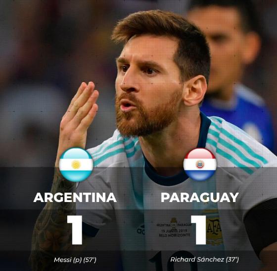 阿根廷媒体齐批国家队:靠VAR拿1分,比上场还差