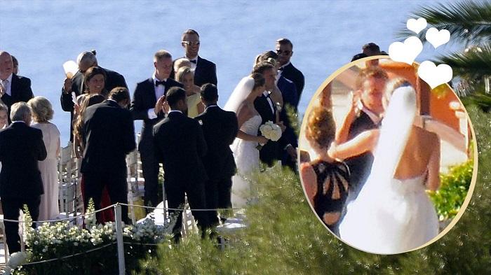多图流:格策在马洛卡结婚, 多位好友到场