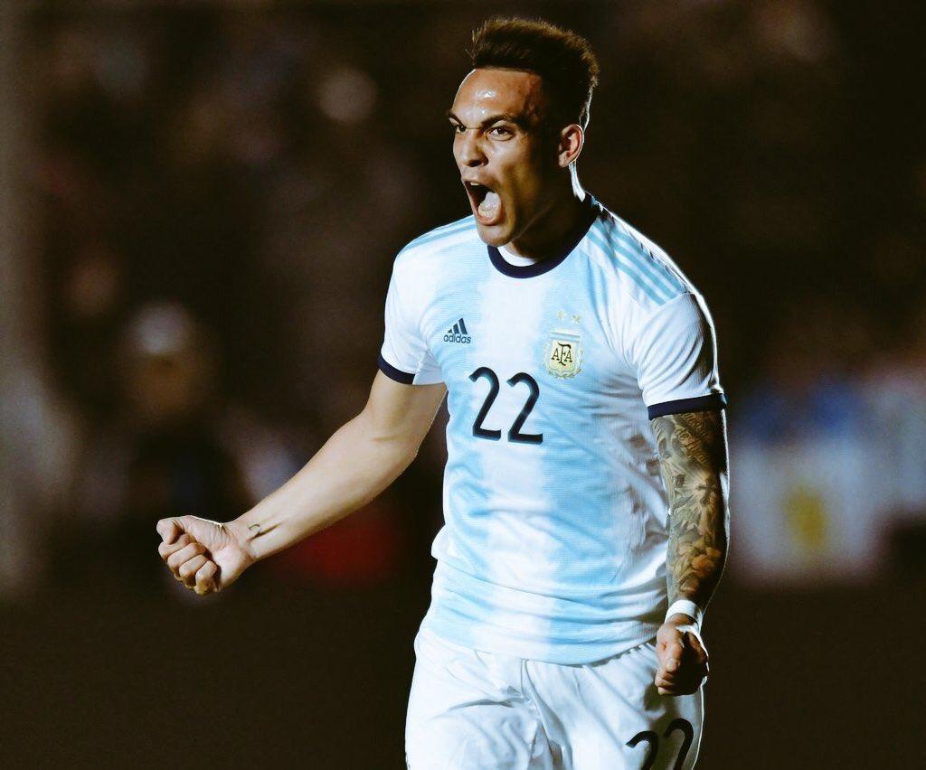 GIF:梦幻开局,劳塔罗推射破门,阿根廷1-0领先