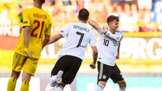 欧青赛:瓦尔德施密特阿米里双响,德国4-2晋级决赛