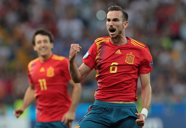 欧青赛:法比安世界波奥尔莫破门,西班牙2-1德国夺冠