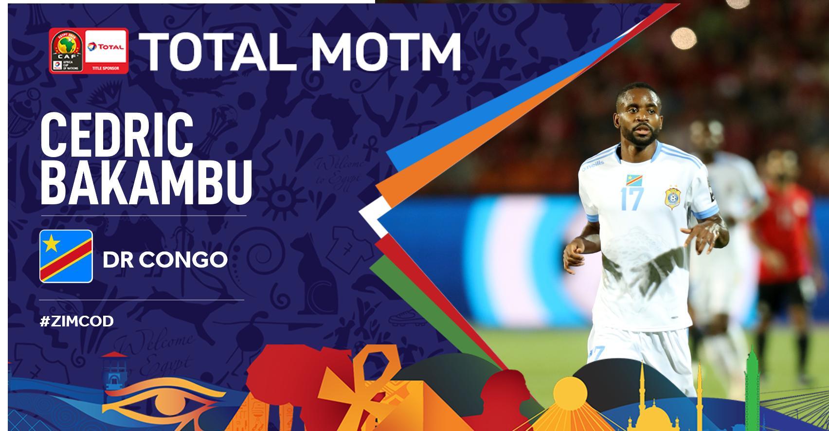 官方:巴坎布单刀破门当选今日非洲杯最佳进球