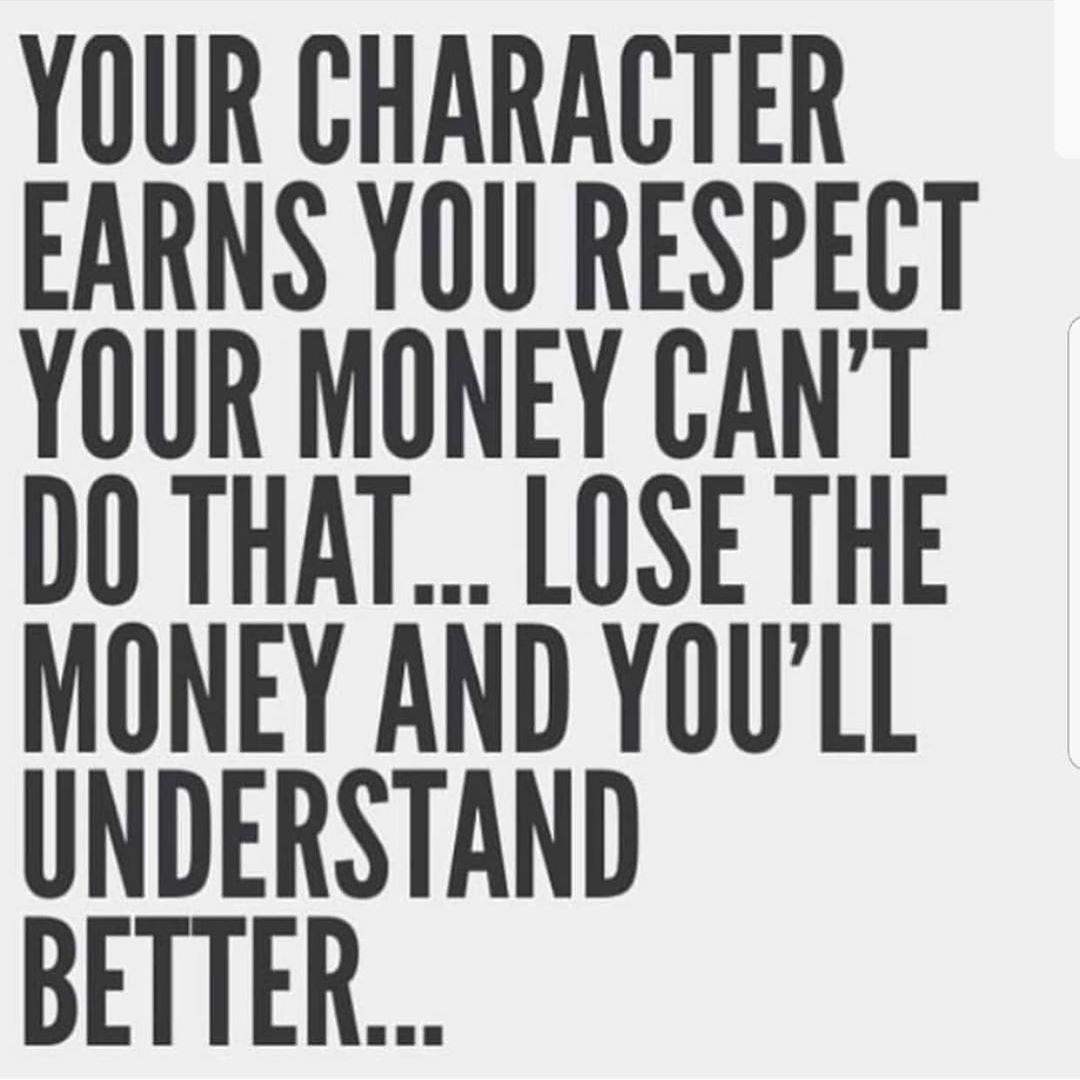 利拉德:为你赢得尊重的是个人品质而不是金钱