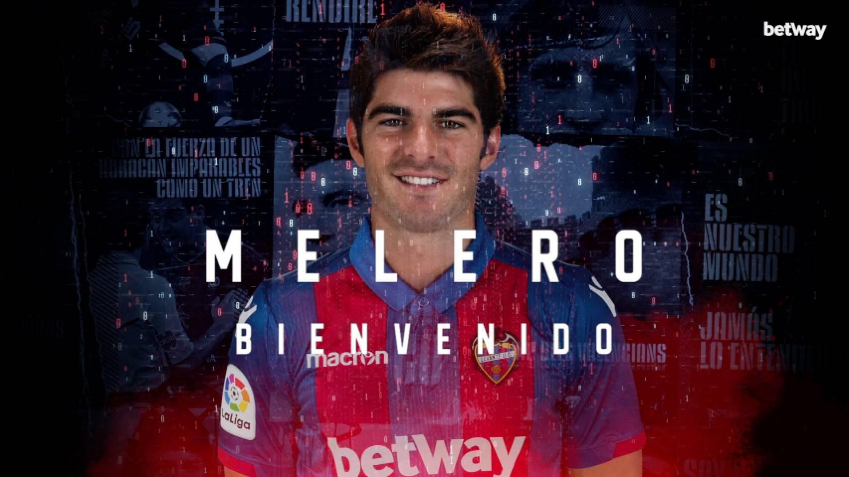 官方:莱万特与前皇马中场梅雷罗签约4年