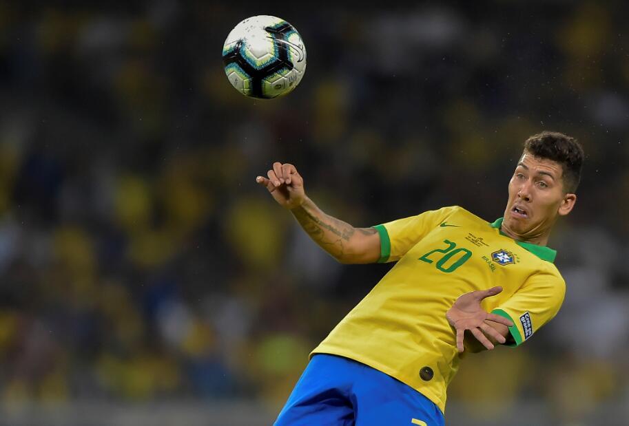 Sofa巴西vs阿根廷赛后评分:菲尔米诺8.1分,梅西7.6分