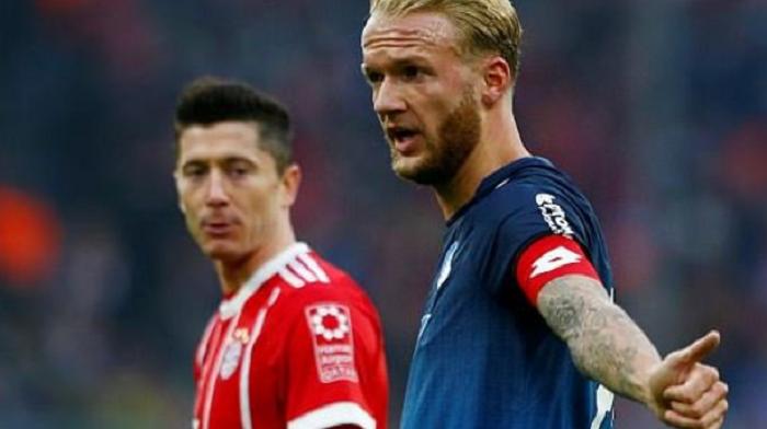 德国天空体育更正:拜仁没有接触霍芬海姆队长福格特