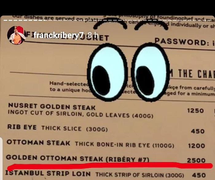 吃自己的牛排!里贝里专属金牛排现身撒盐哥餐厅