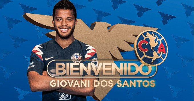 官方:墨西哥前锋多斯桑托斯回国加盟美洲队