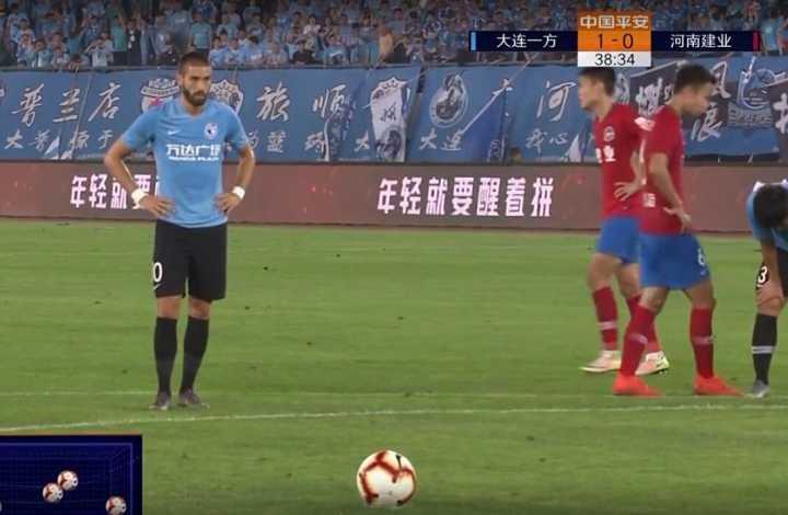GIF:汪晋贤造点卡拉斯科主罚命中,一方2-0建业