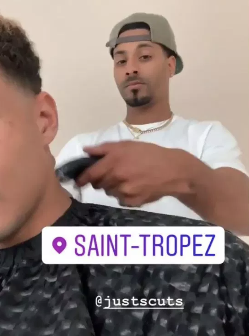 壕!阿里邀请专属发型师赴法国为自己理发