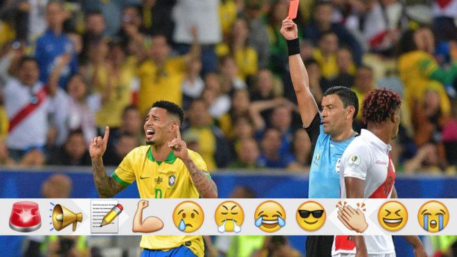 马卡报评论:争议判罚贯穿赛事,裁判是美洲杯最大输家