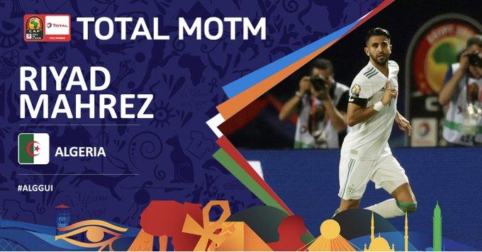 马赫雷斯破门,阿尔及利亚3-0几内亚晋级非洲杯八强