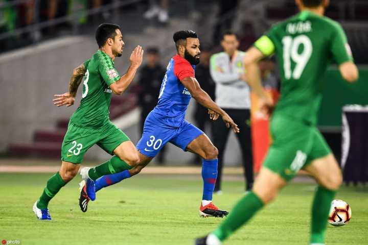半场:卡尔德克朴成破门李磊伤退,国安1-1重庆