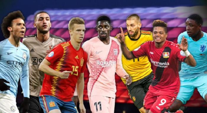 一图流:德媒列拜仁 7大边锋候选, 萨内登贝莱齐耶赫领衔