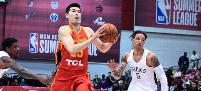 中国男篮明日将与太阳进行最后一场夏联较量