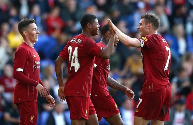 友谊赛:布鲁斯特双响奥里吉破门,利物浦6-0特兰米尔