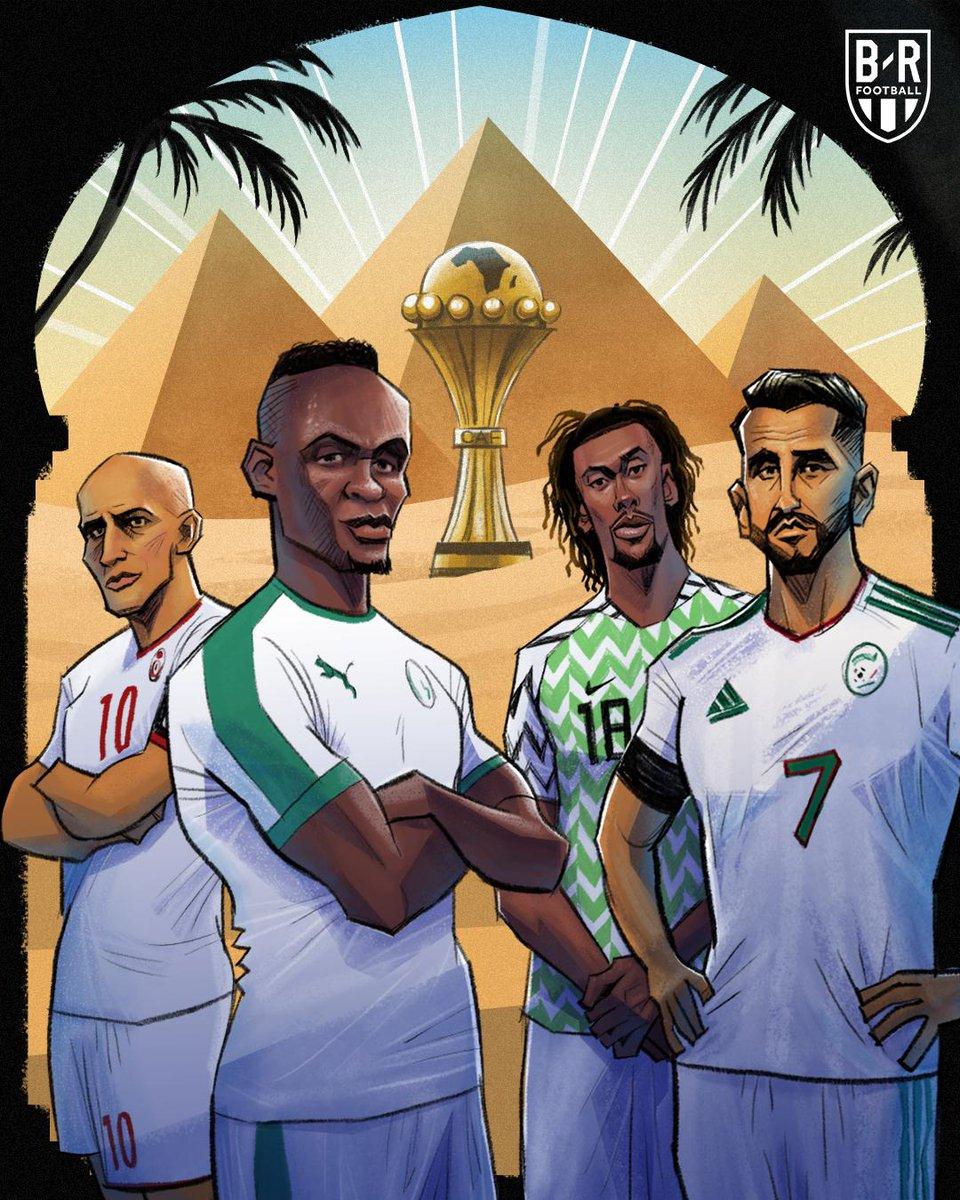 15年来首次, 三支法语系国家队会师非洲杯四强