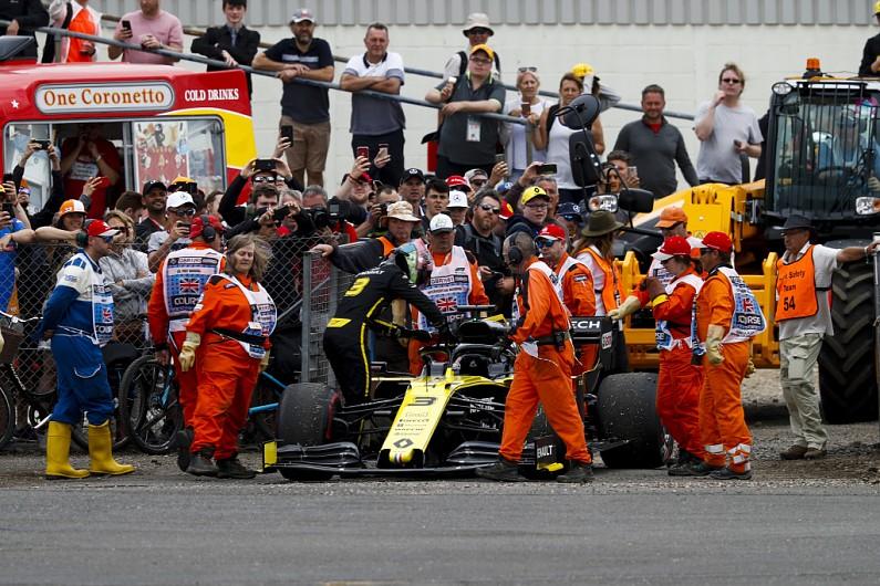 里卡多:周五坏掉的是旧引擎