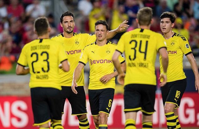友谊赛:阿尔卡塞尔闪击拉尔森破门, 多特 3-  2利物浦