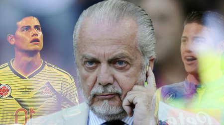 那不勒斯球迷训练现场呼吁德佬签下J罗:把他带来!