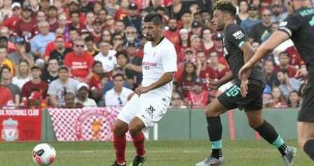 热身赛:诺利托破门奥里吉难救主,利物浦1-2塞维利亚