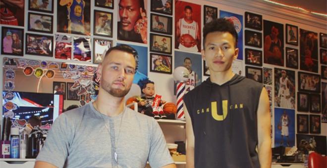 莫泰现身上海理发,理发师透露其已与上海队签约