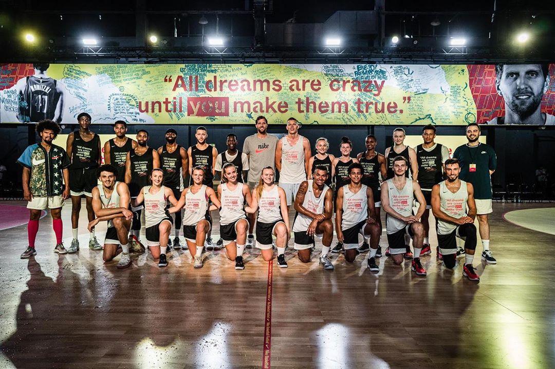 诺维茨基参加篮球活动:梦想在被完成以前都很疯狂