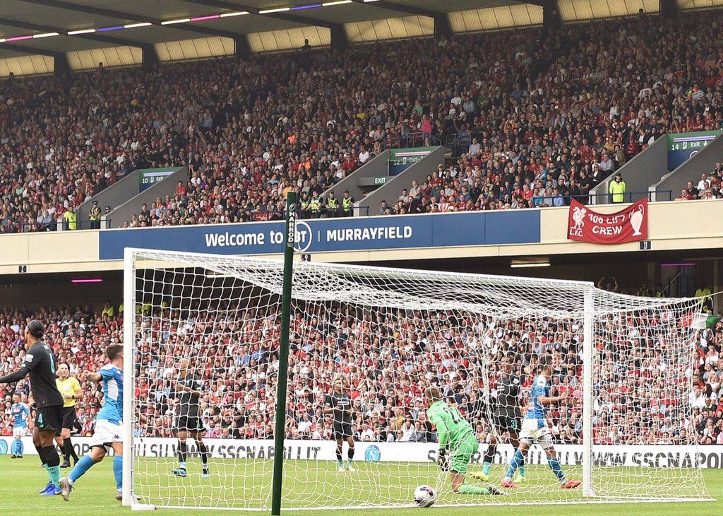 GIF:尤尼斯补射得分,那不勒斯3-0利物浦