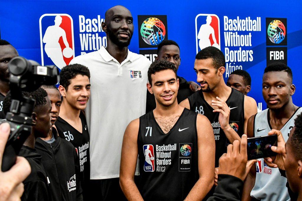 法尔谈篮球无国界活动:这是碰见NBA球员和熬炼的机会